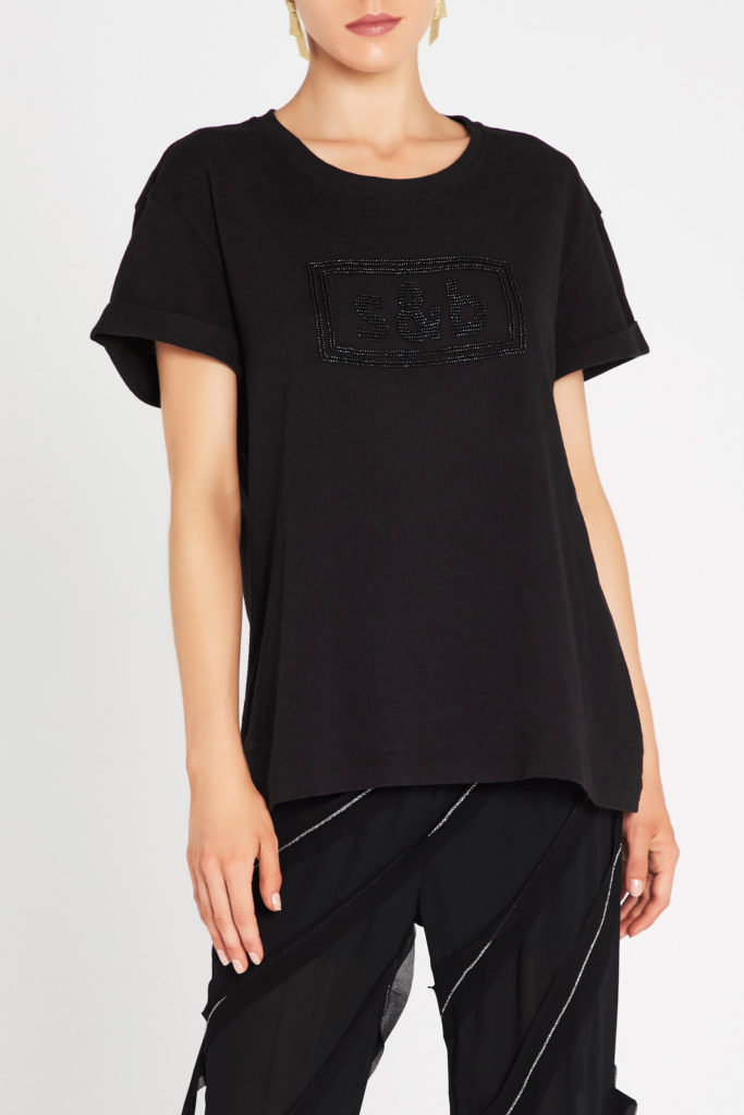 sass and bide Boss Goddess Tee – Black