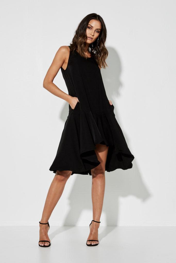 Mossman The Memory Remains Dress – Black