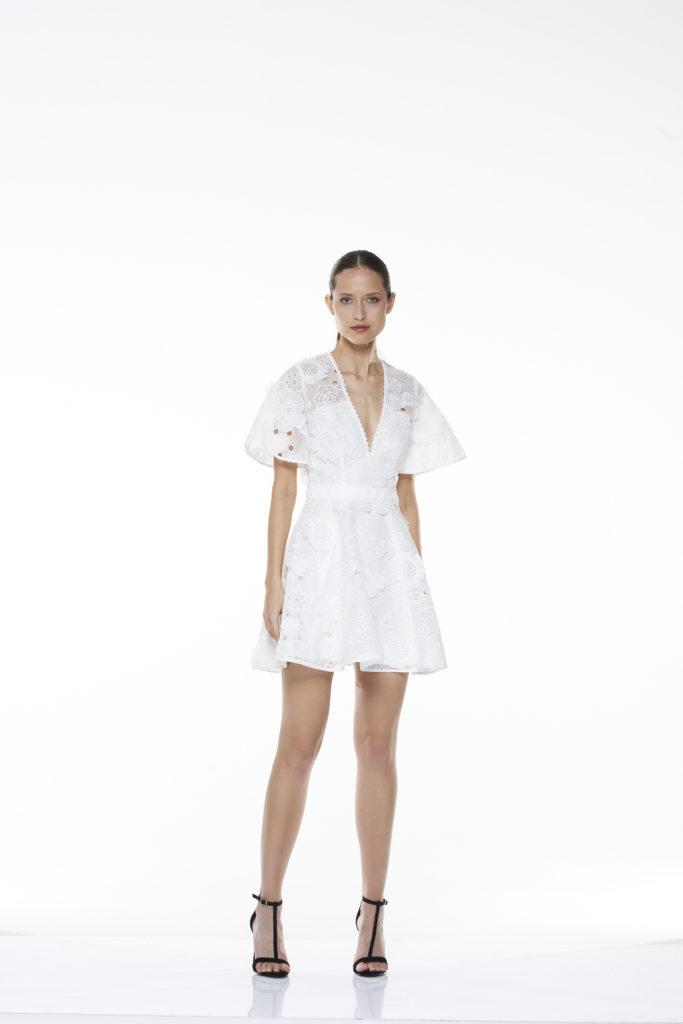 La Maison Talulah Virtuous Lace Mini Dress