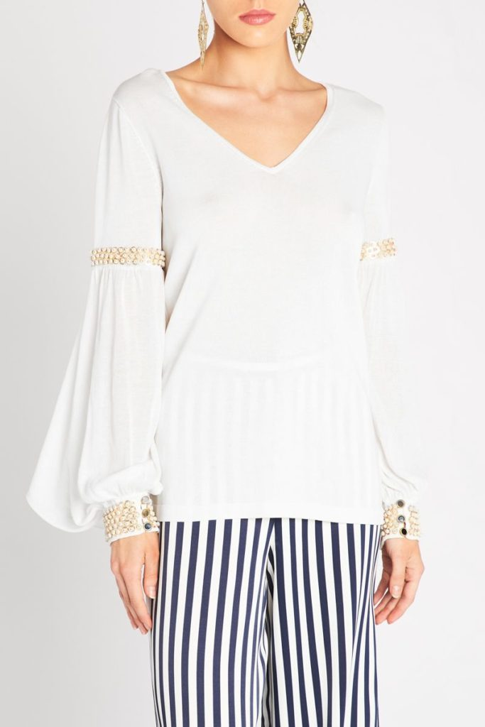 sass and bide Sum of Love Knit – Ivory