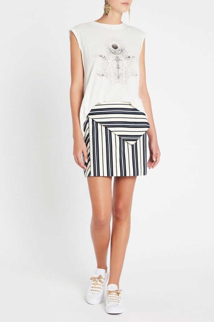 sass and bide There She Goes Skirt