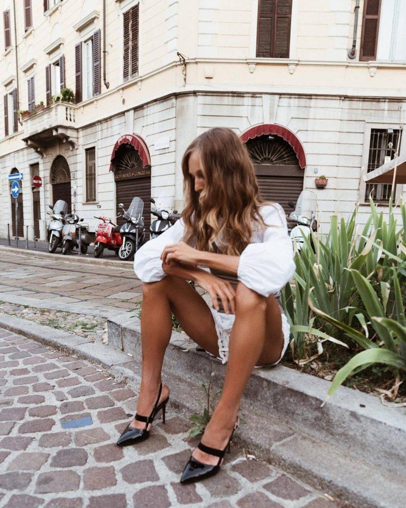 Alias Mae Tyla Heel – Black Patent