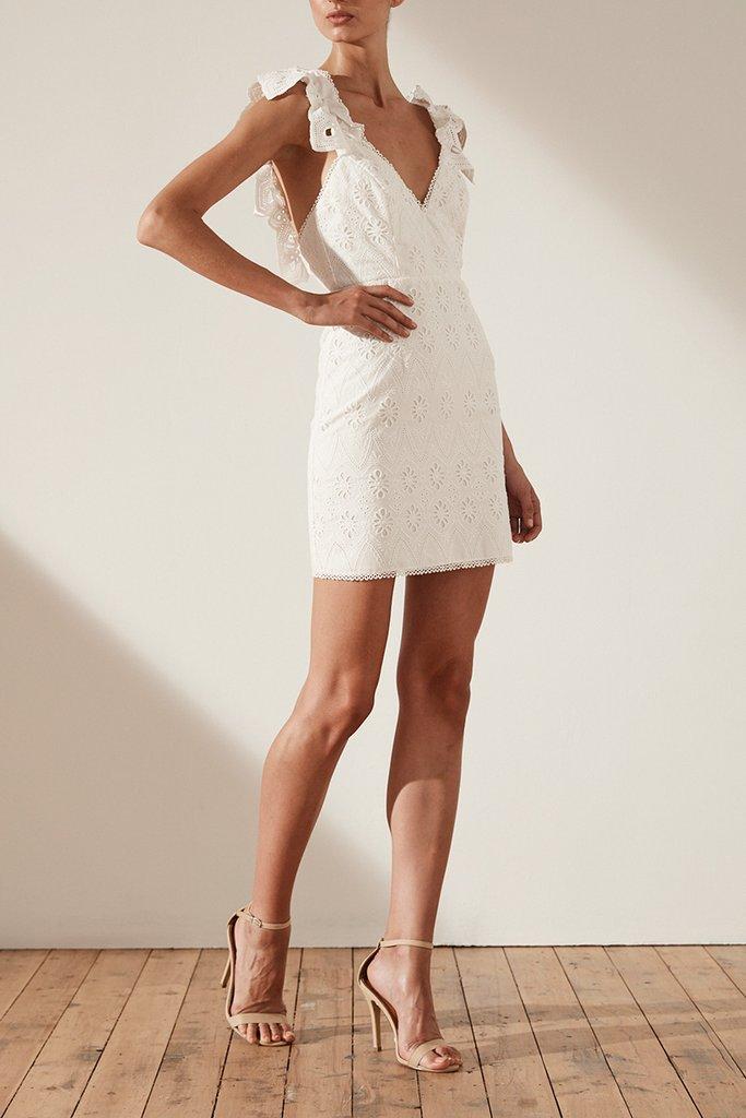 Shona Joy Viola Cocktail Mini Dress