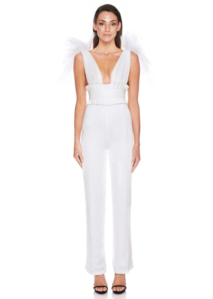 Eliya the Label Romee Pantsuit – Ivory