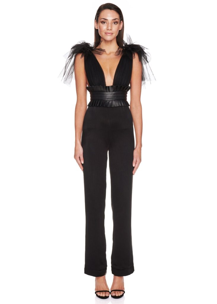 Eliya the Label Romee Pantsuit – Black