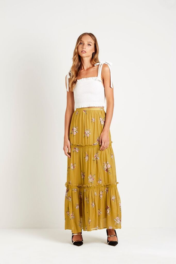 Steele Bellflower Maxi Skirt
