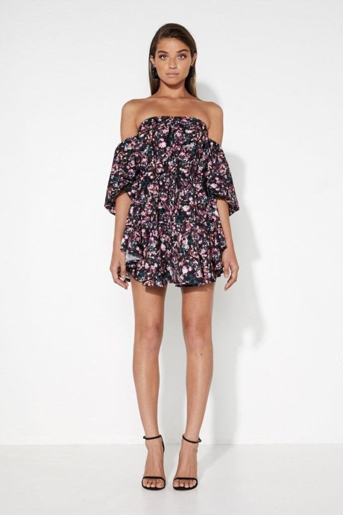 Mossman In Full Bloom Mini Dress