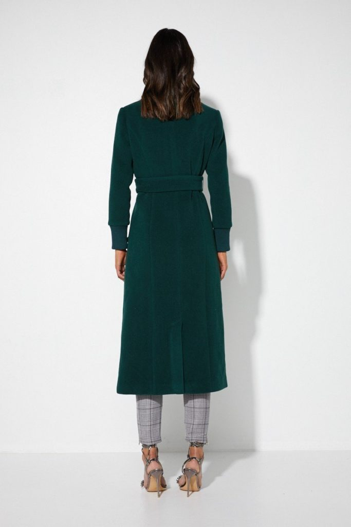 cc4640af818a Mossman The Out Of Action Coat - Emerald - Luxe to Leisure