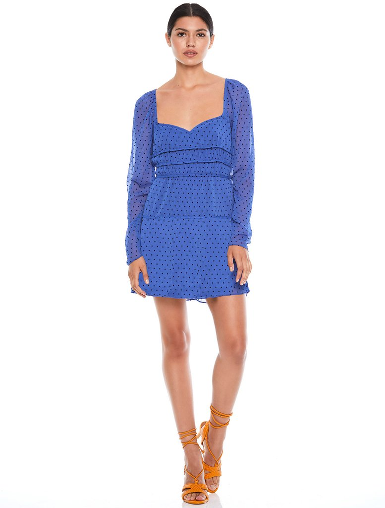 La Maison Talulah Sorrento Mini Dress Azure