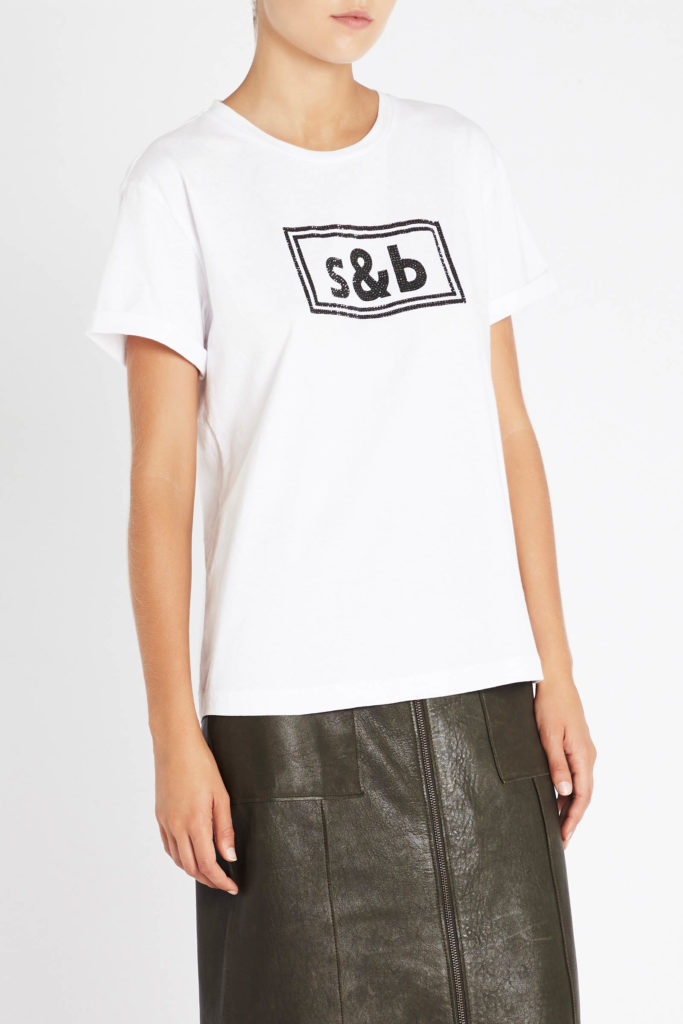 sass and bide The New Brave Tee Ivory