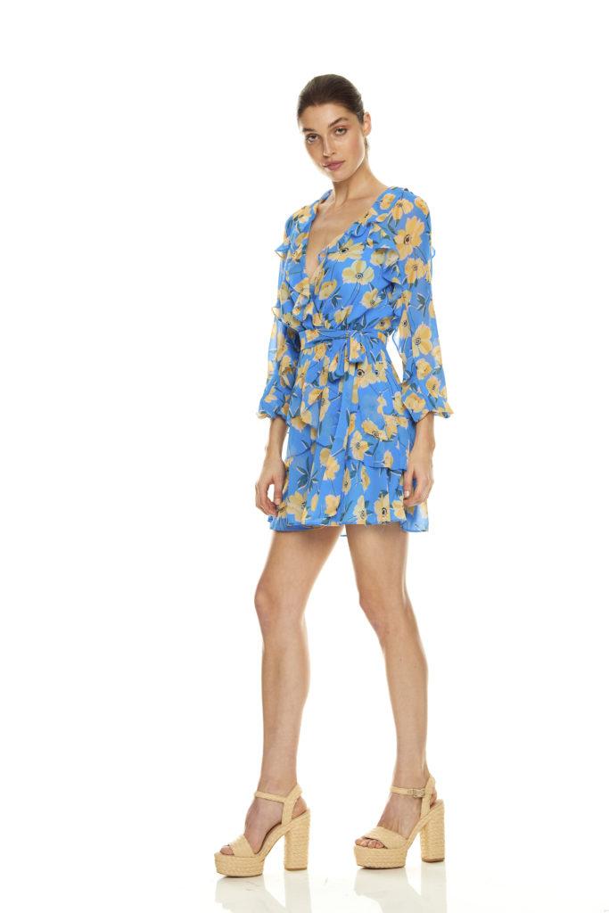 La Maison Talulah Sicily Sway Mini Dress