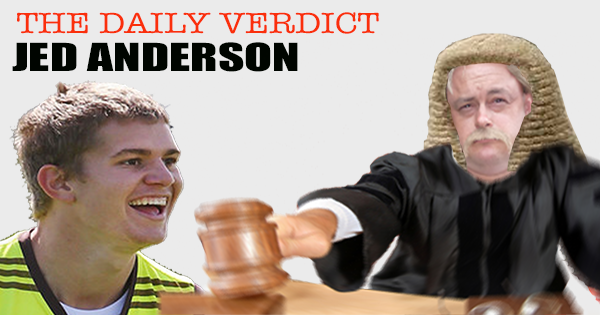 Jed Anderson Supercoach 2016