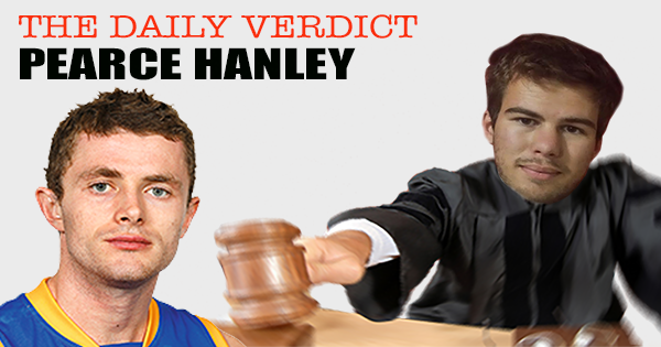 Pearce Hanley in the Daily Fantasy Verdict