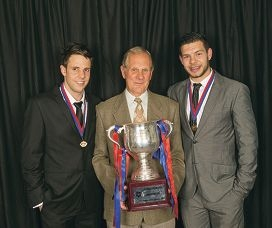Champions all: Shane Nelson, Mel Whinnen and Andrew Strijk.