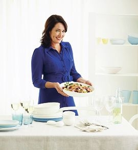 Chef Anna Gare will appear at a number of shopping centres after the release of her second book.