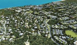 An artist's impression of the future Jindee estate.