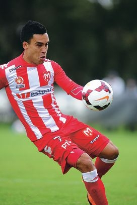 Melbourne Heart's Iain Ramsay.