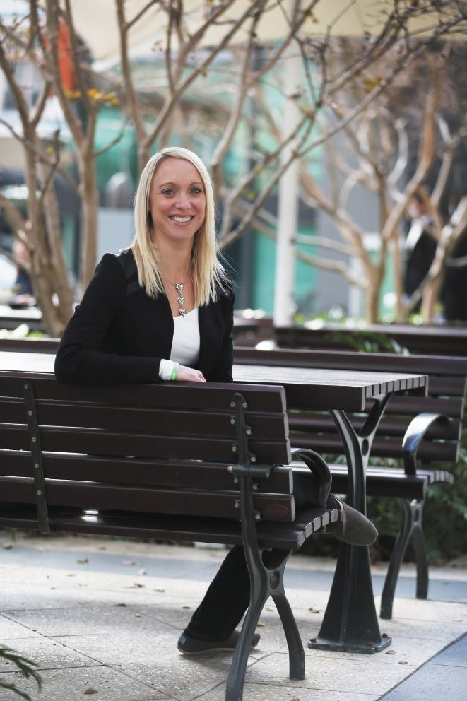 GenWhy? founder Amanda Stephenson. Picture: Andrew Ritchie         d440860