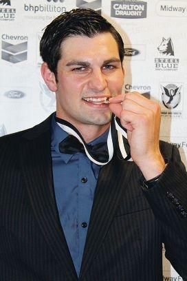Swan Medal winner Tony Notte.