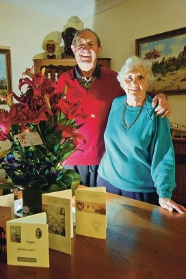 John and Peggy Durbin recently celebrated their 65th wedding anniversary. Picture: Emma Reeves d408650