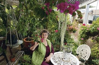 Suzanne Reeve will be opening her garden to the public. Picture: Emma Reeves d408524