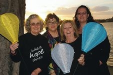 Light the Night Mandurah's committee members.