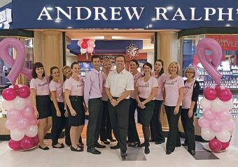 Andrew Ralph's Diamond Jewellers staff are gearing up for a National Breast Cancer Foundation fundraiser.