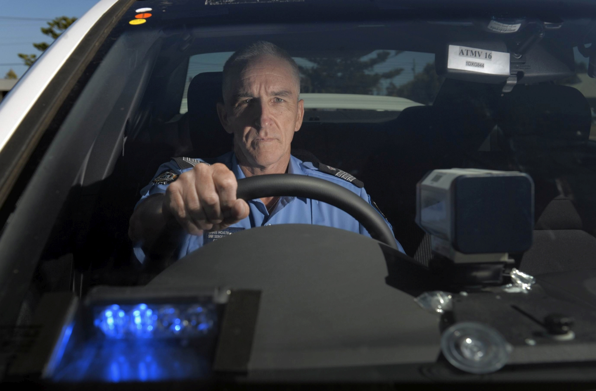 Senior Sergeant Chris Hoath, of Peel Traffic.