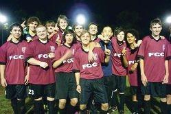 Foundation Christian College senior school soccer team.