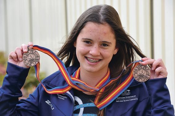 Tamara Nicolson says she feels honoured to be representing Australia next month. Picture: Jon Hewson d407595