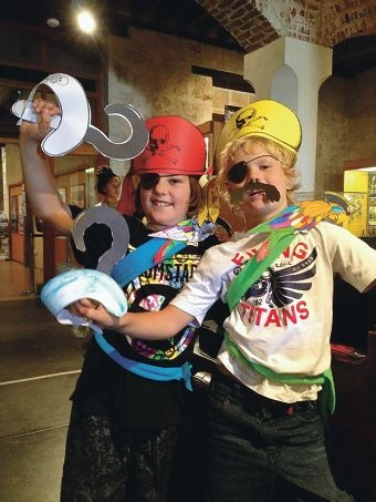 Young pirates can celebrate the day with free museum entry.