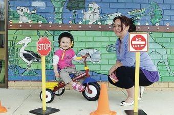 Parenting co-ordinator Natasha Hughes with Lili Batka (2).
