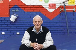 Ray Mawson taught judo to children at the Fremantle PCYC for 45 years and was recently recognised for his dedicated service. Picture: Martin Kennealey www.communitypix.com.au d406863