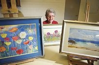 Wanneroo-Joondalup Art Society member Ivy Thornton is preparing for the forthcoming show.