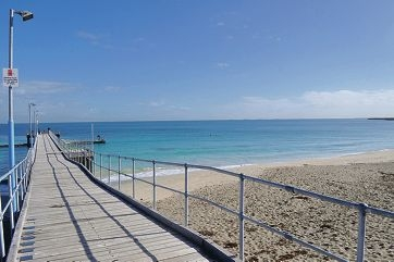 A shark barrier covering 300 metres of beach and about 75 metres out to sea is about to be set up at Coogee Beach.