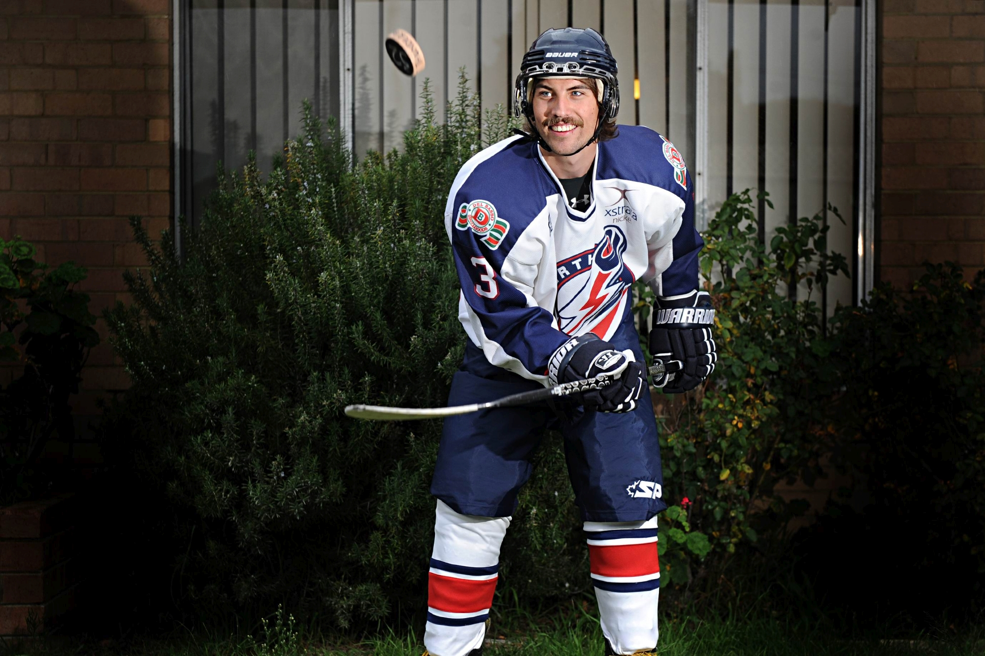 Perth Thunder ice hockey star player Rob Haselhurst. Picture: Marcus Whisson www.communitypix.com.au d403952