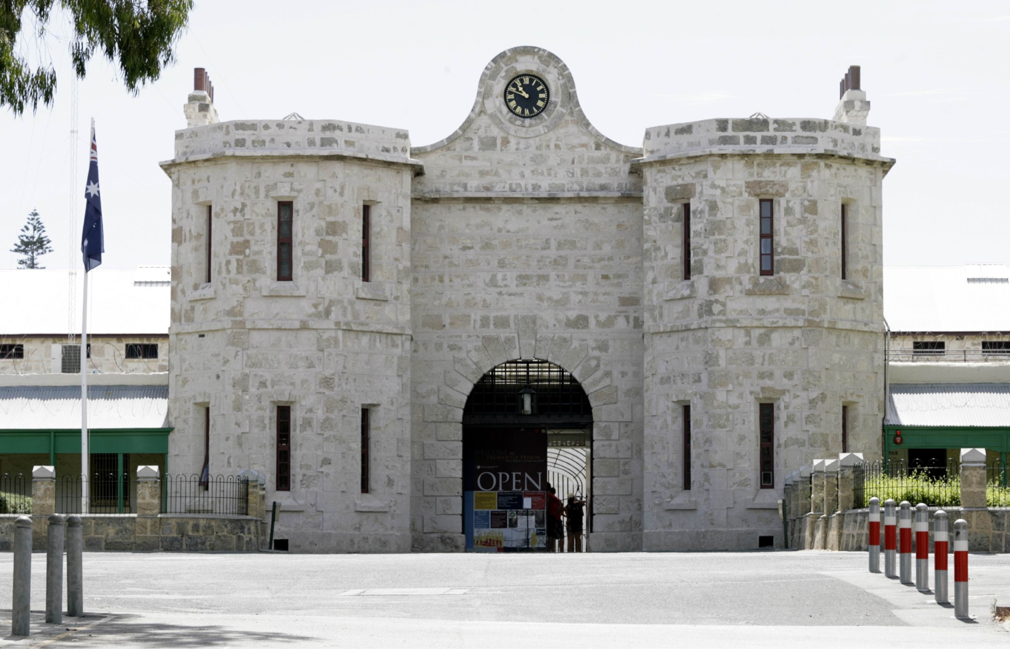 Fremantle Prison was named one of the top 10 tourist sites in the country.