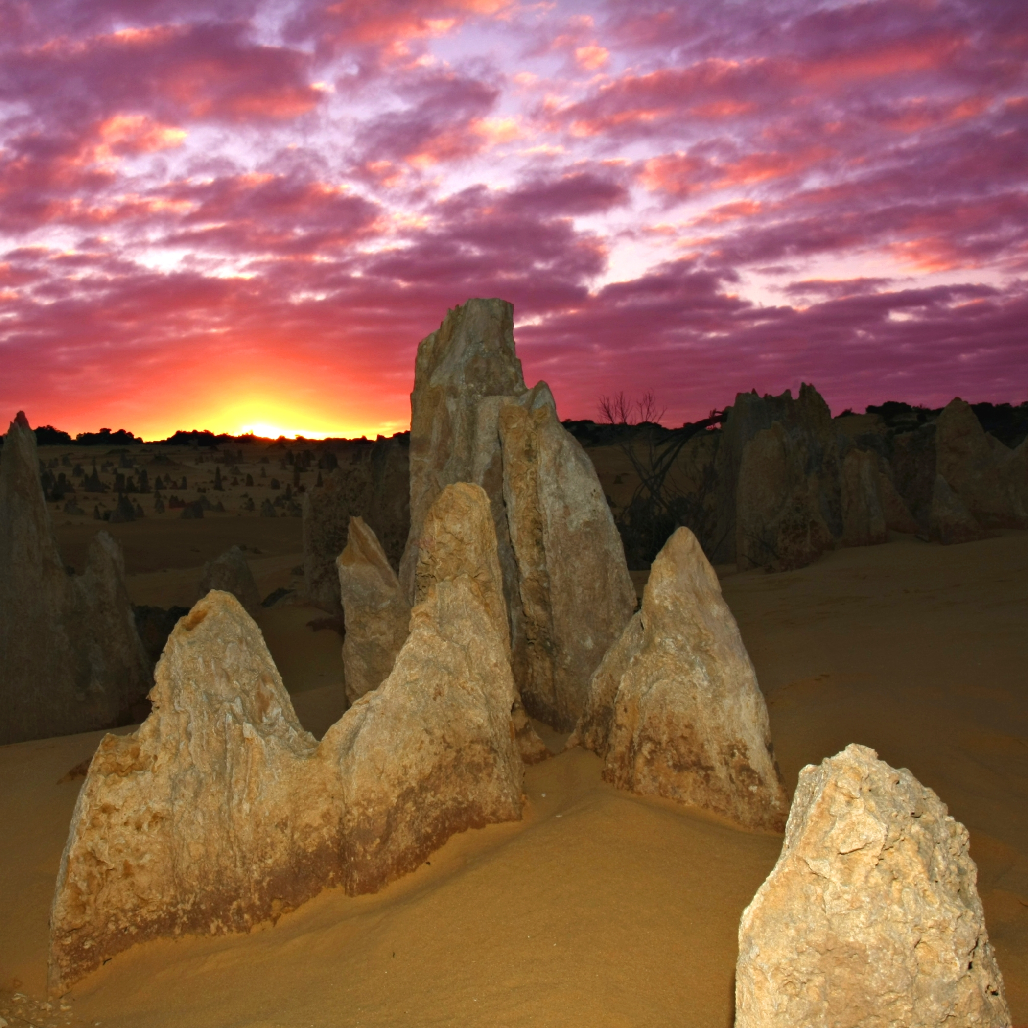 The Pinnacles are perfect for photographers.