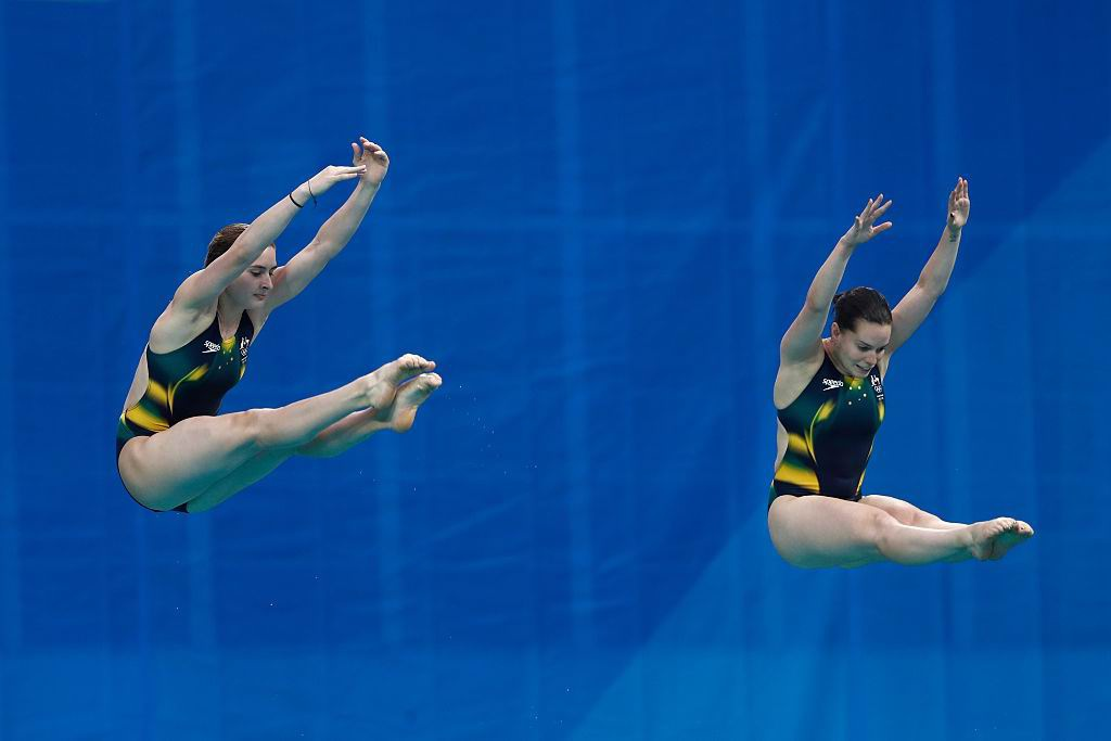 Bronze medal in women's 3m synchro