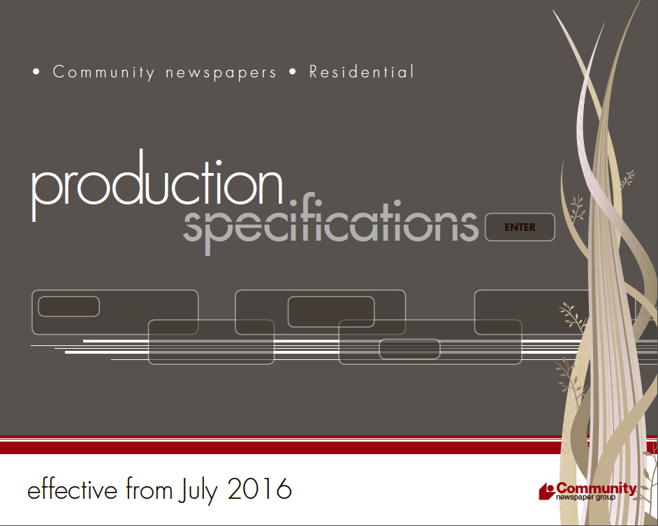 Production Specifications 2016 INTERACTIVE