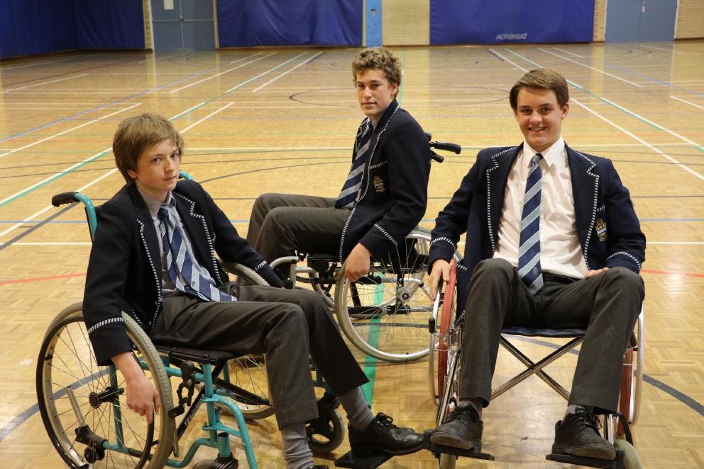 Hale students undertake Wheelchair Challenge to raise money and awareness