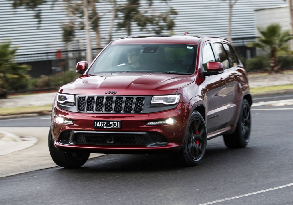 Jeep's exclusive Grand Cherokee SRT Night.