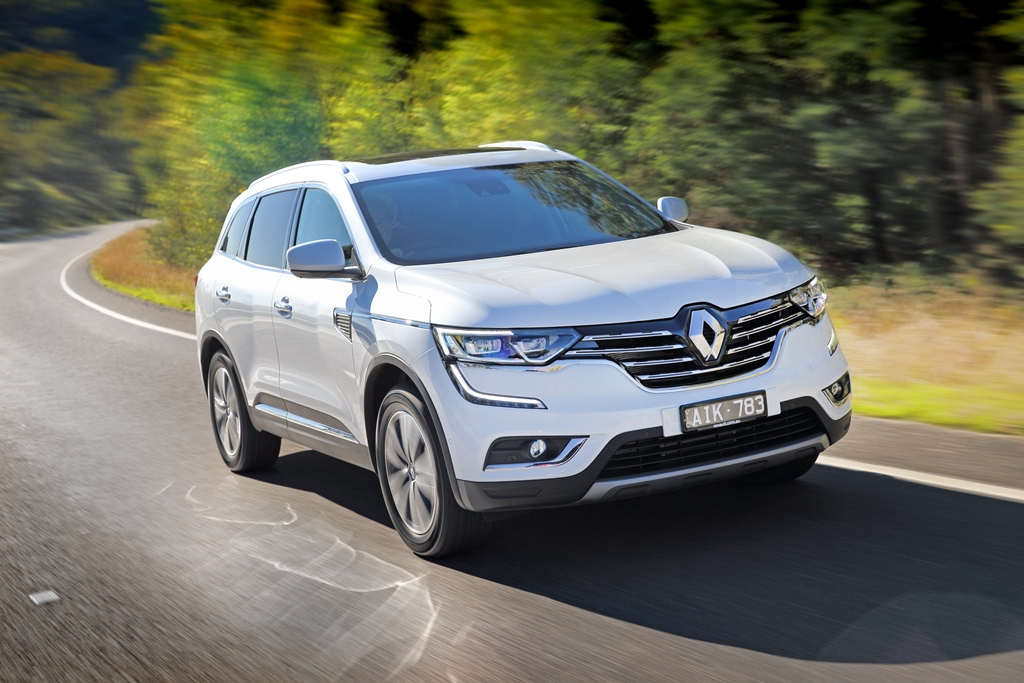 Renault Koleos comes to the fore
