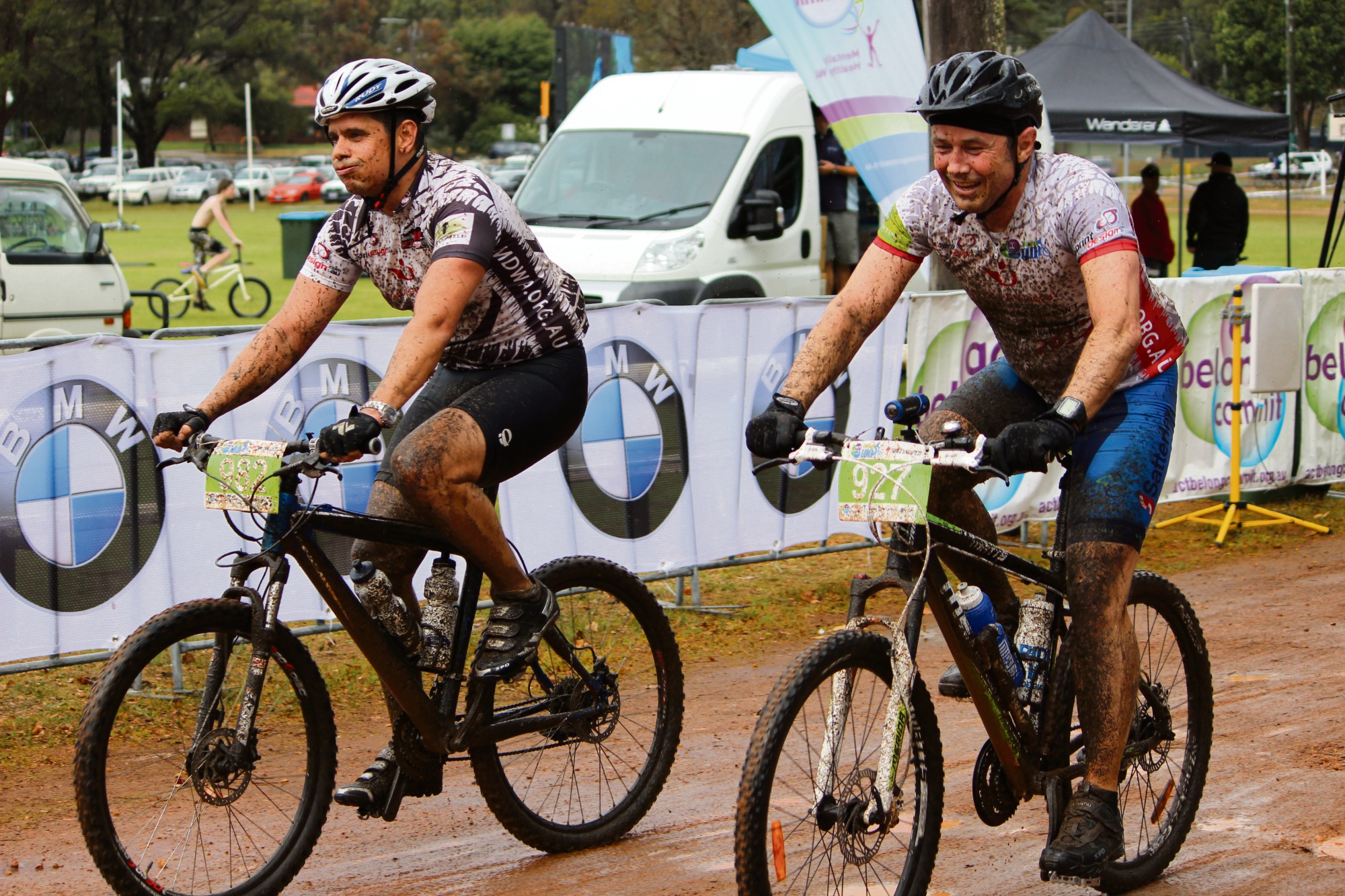 Act-Belong-Commit Dwellingup cyclists riding for Muscular Dystrophy WA