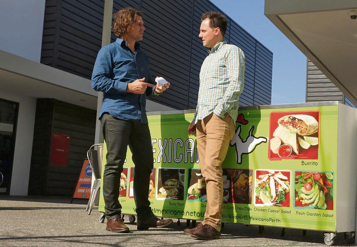 Innovators: Todd Sainsbury and Paul Trappitt.