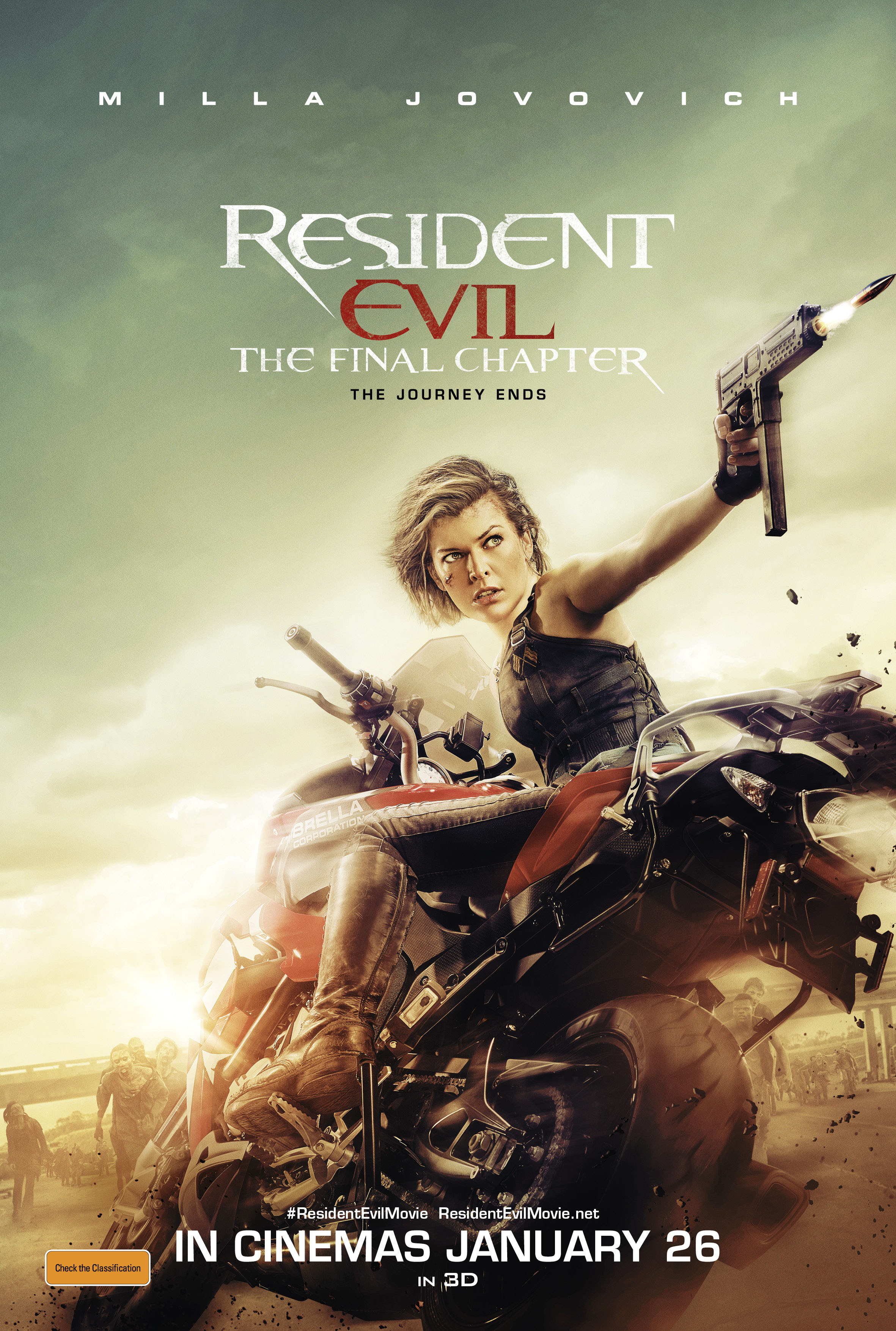 Win tickets to Resident Evil: The Final Chapter