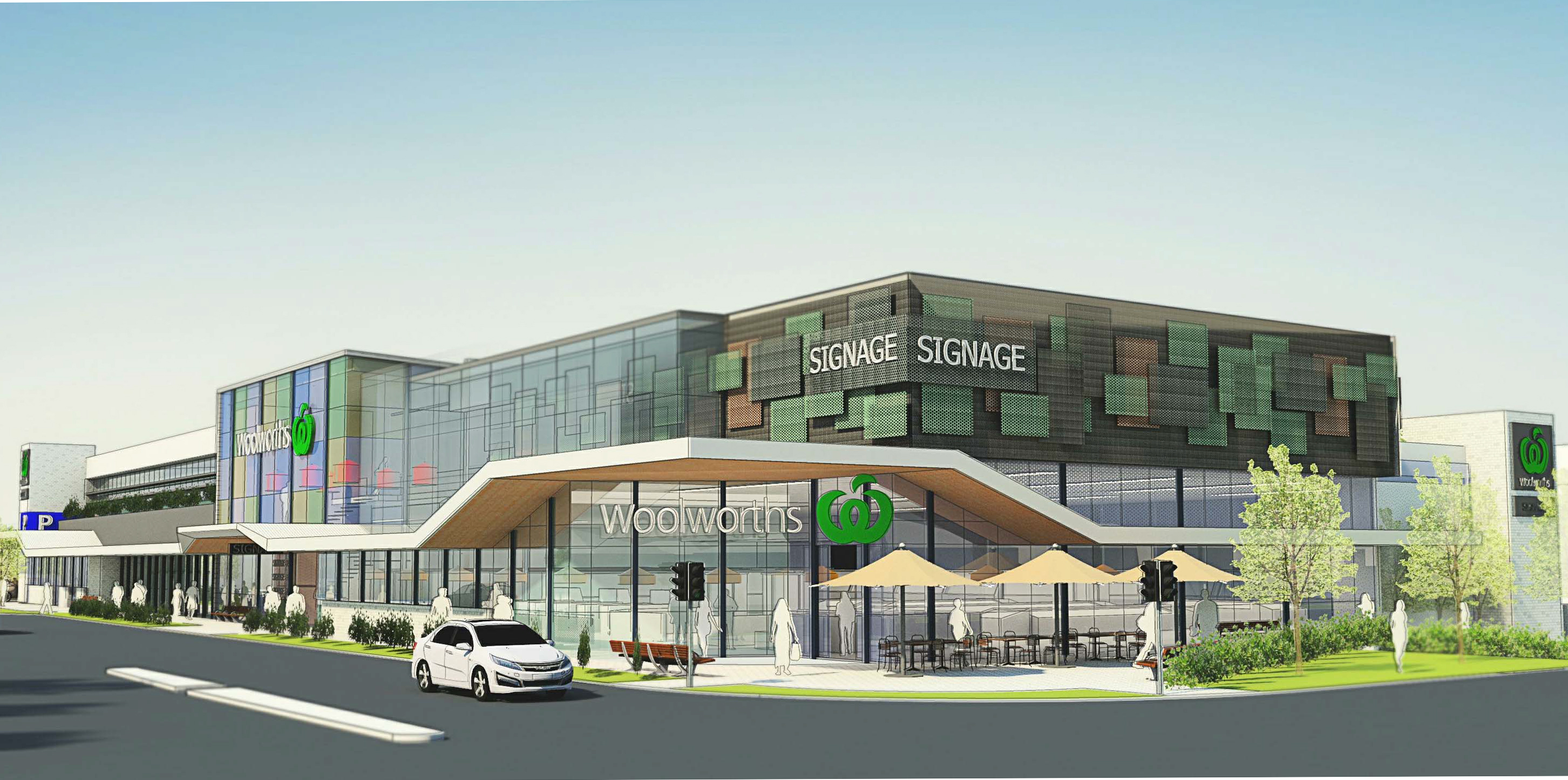 The City of Melville has shut the door on Woolworths' application.