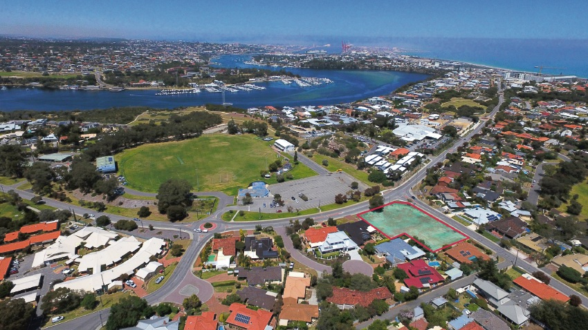 Richard Noble and Company offering rare chance to build on river in Mosman Park