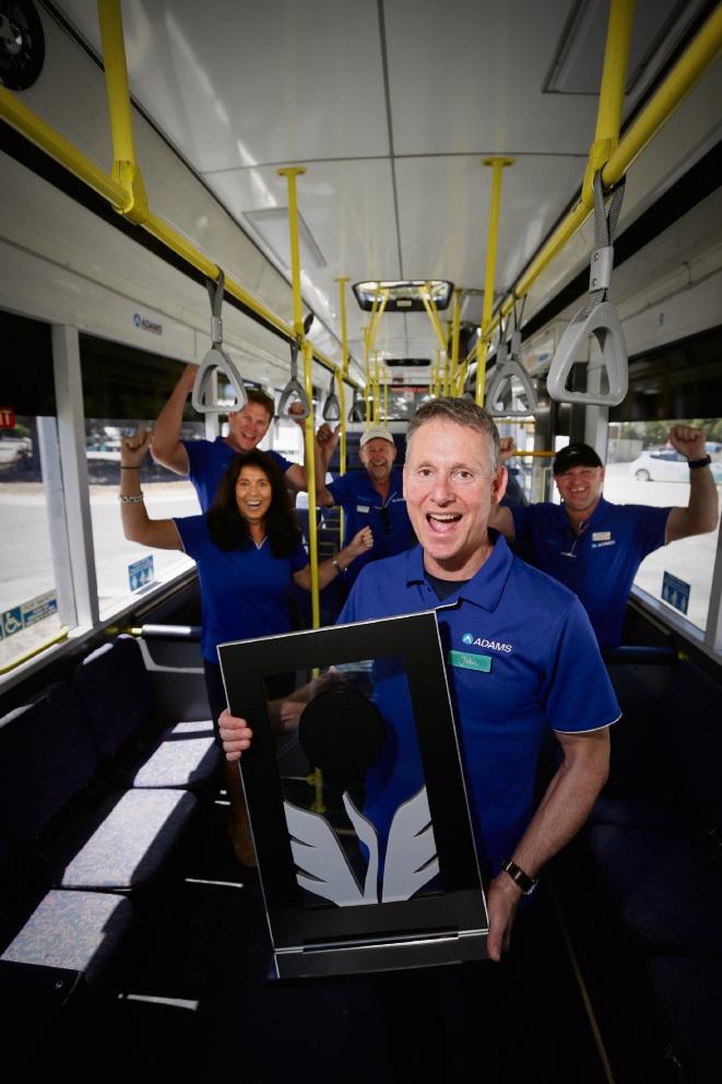 Rottnest bus provider ADAMS wins WA's top tourism award