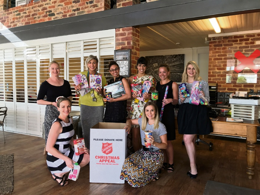 Property Exchange and Salvation Army team up to bring festive cheer